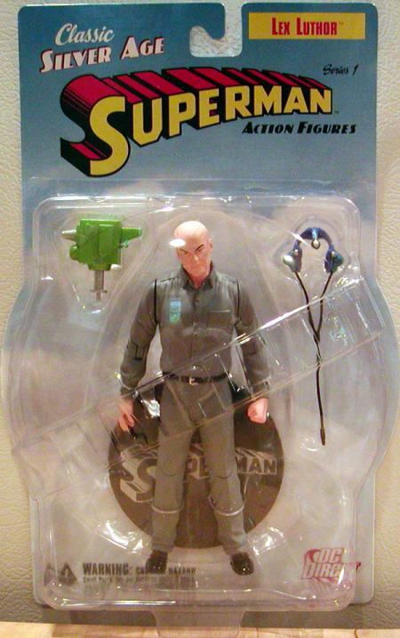 Lex Luthor Silver Age Superman