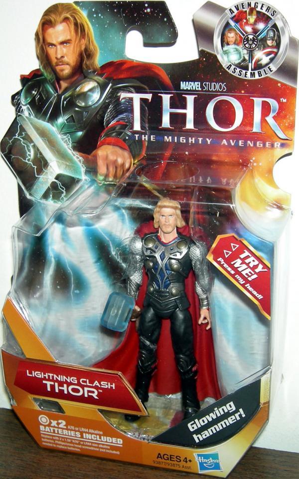 Lightning Clash Thor Movie action figure