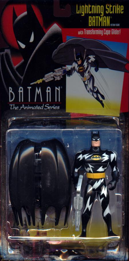 Lightning Strike Batman Action Figure Animated Series Kenner