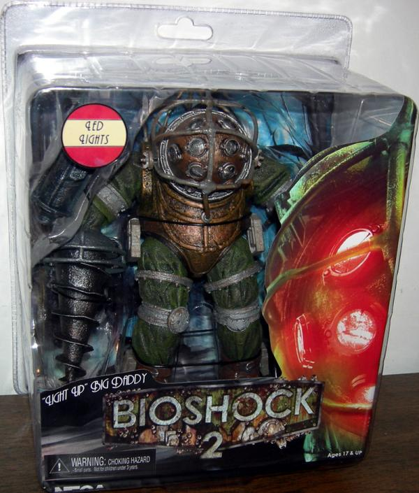 Light Up Big Daddy Bioshock 2 action figure