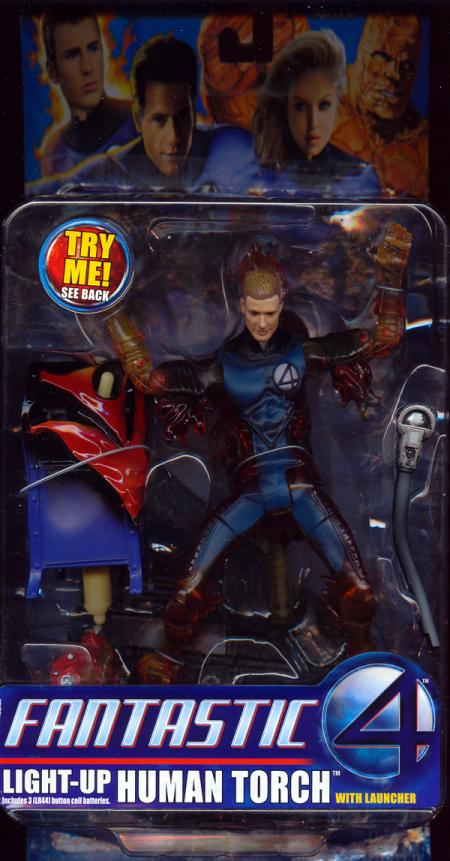 Light-Up Human Torch movie