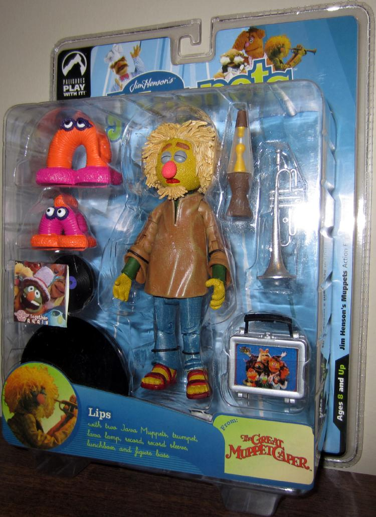 Lips Muppet Figure Great Caper Series Nine Brown Shirt
