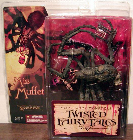 Little Miss Muffet Twisted Fairy Tales Action Figure