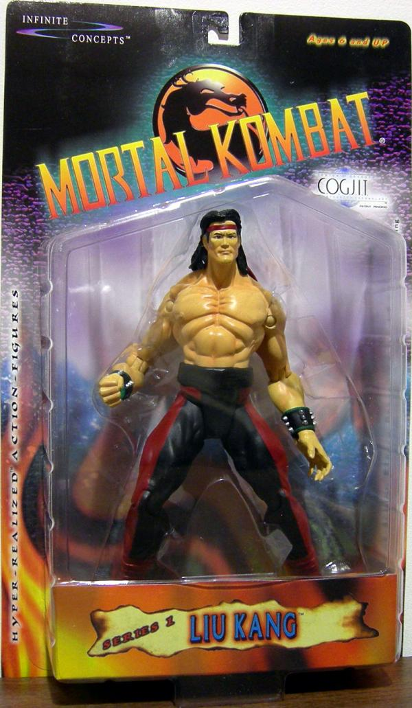 Liu Kang Action Figure COGJIT Mortal Kombat Infinite Concepts