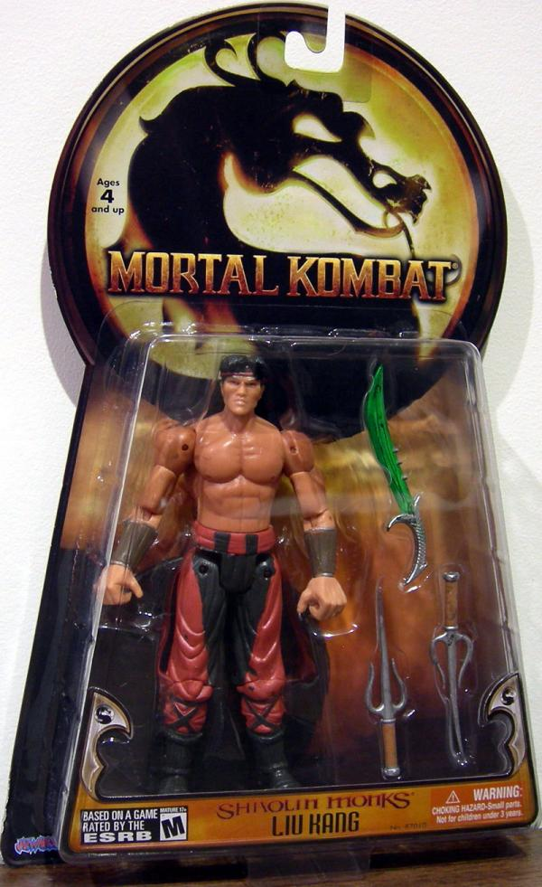 Liu Kang Shaolin Monks Action Figure Jazwares