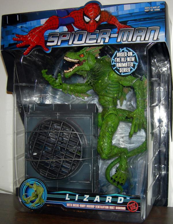 Lizard Figure MTV Spider-Man Animated Toy Biz