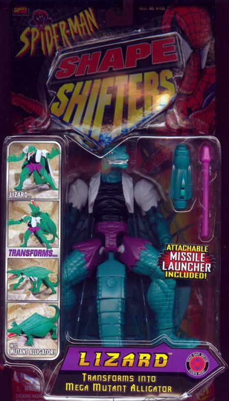 Lizard Shape Shifters