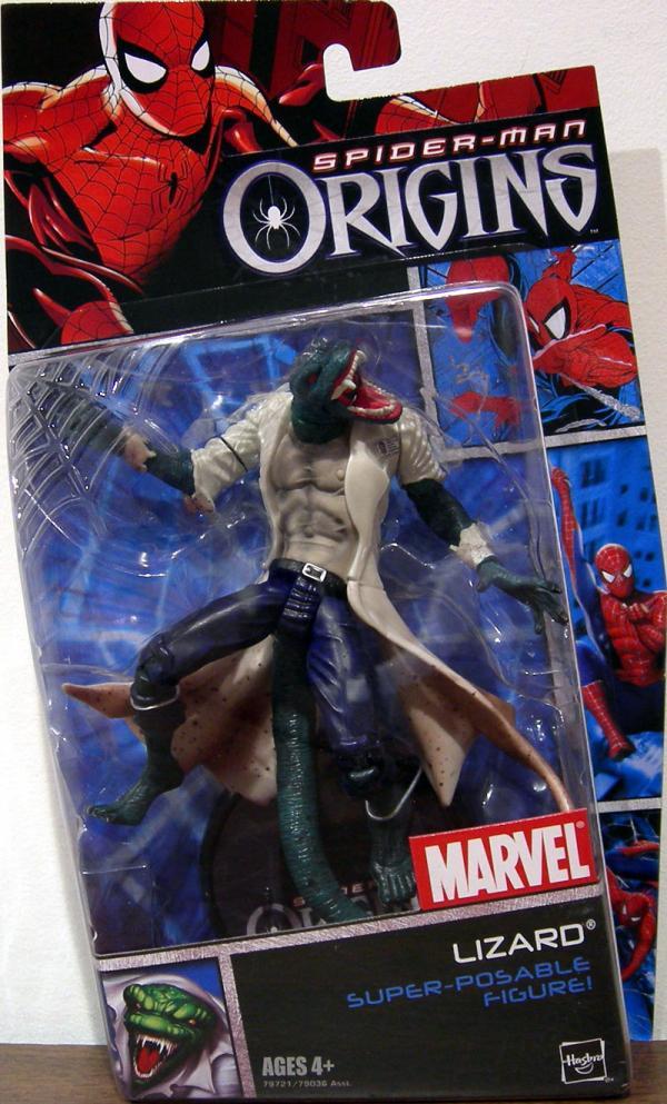 Lizard Spider-Man Origins