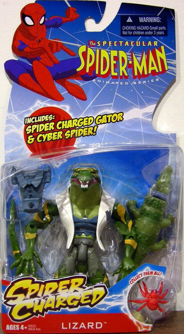 Lizard Spectacular Spider-Man Animated Series, Spider Charged