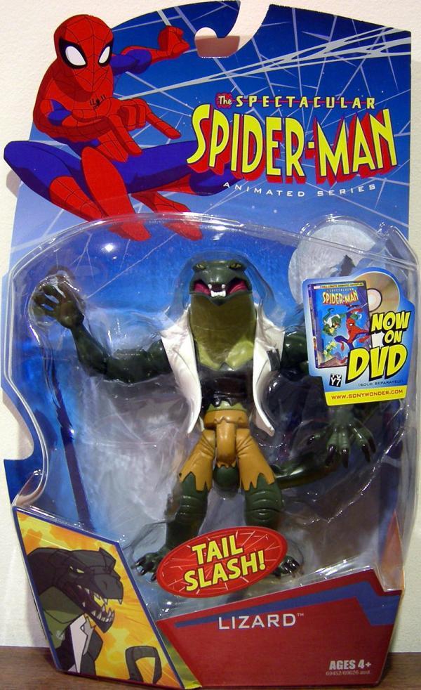 Lizard Figure Spectacular Spider-Man Animated Series Hasbro