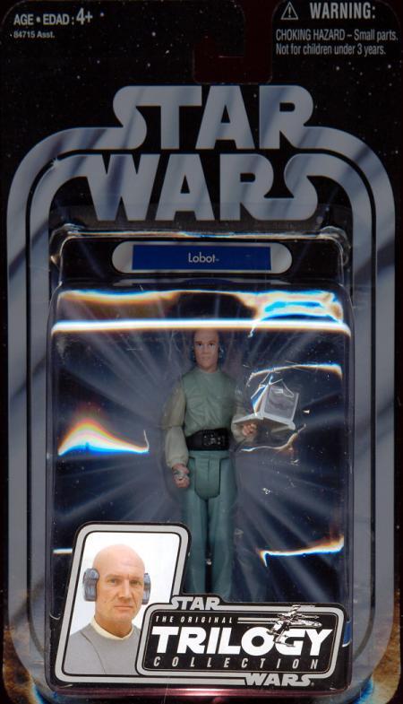 Lobot Figure Original Trilogy Collection 20 Star Wars