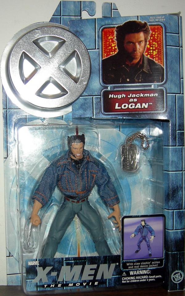 Logan Figure X-Men Movie Series 2 Toy Biz