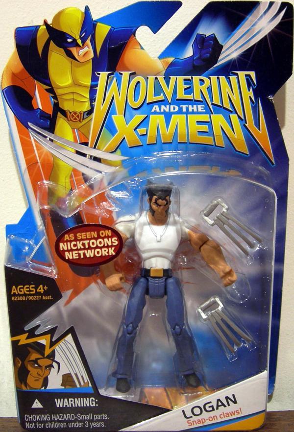 Logan Wolverine X-Men White Shirt action figure