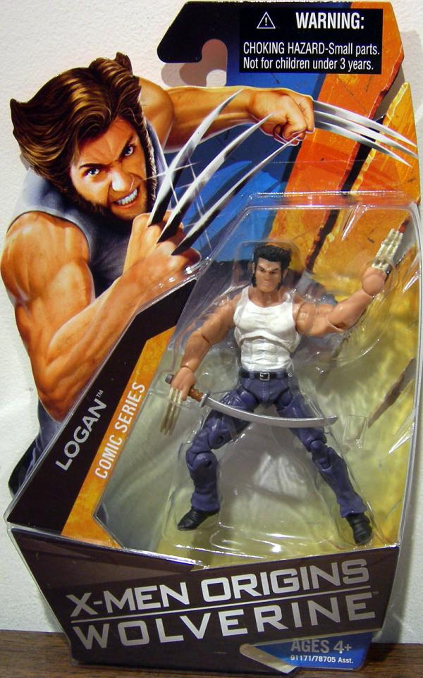 Logan X-Men Origins Comic Series action figure