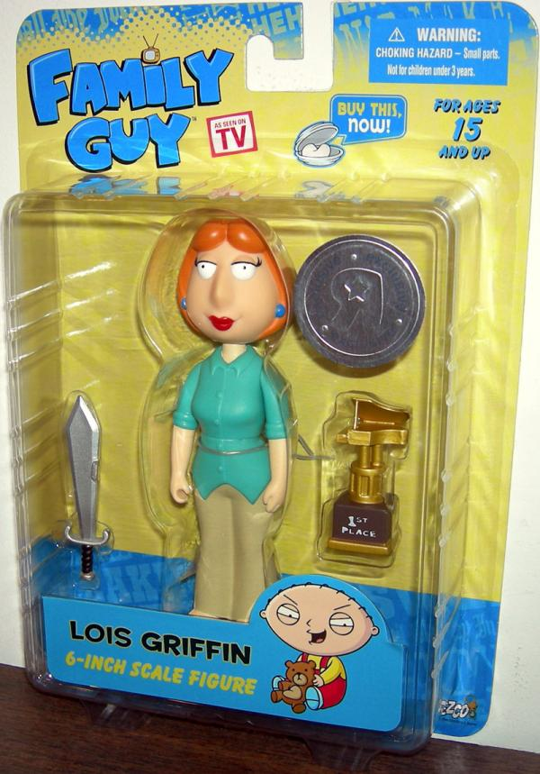 Lois Griffin Action Figure Toys R Us Exclusive Family Guy