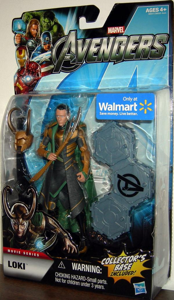 Loki Figure Avengers Movie Series Walmart Exclusive