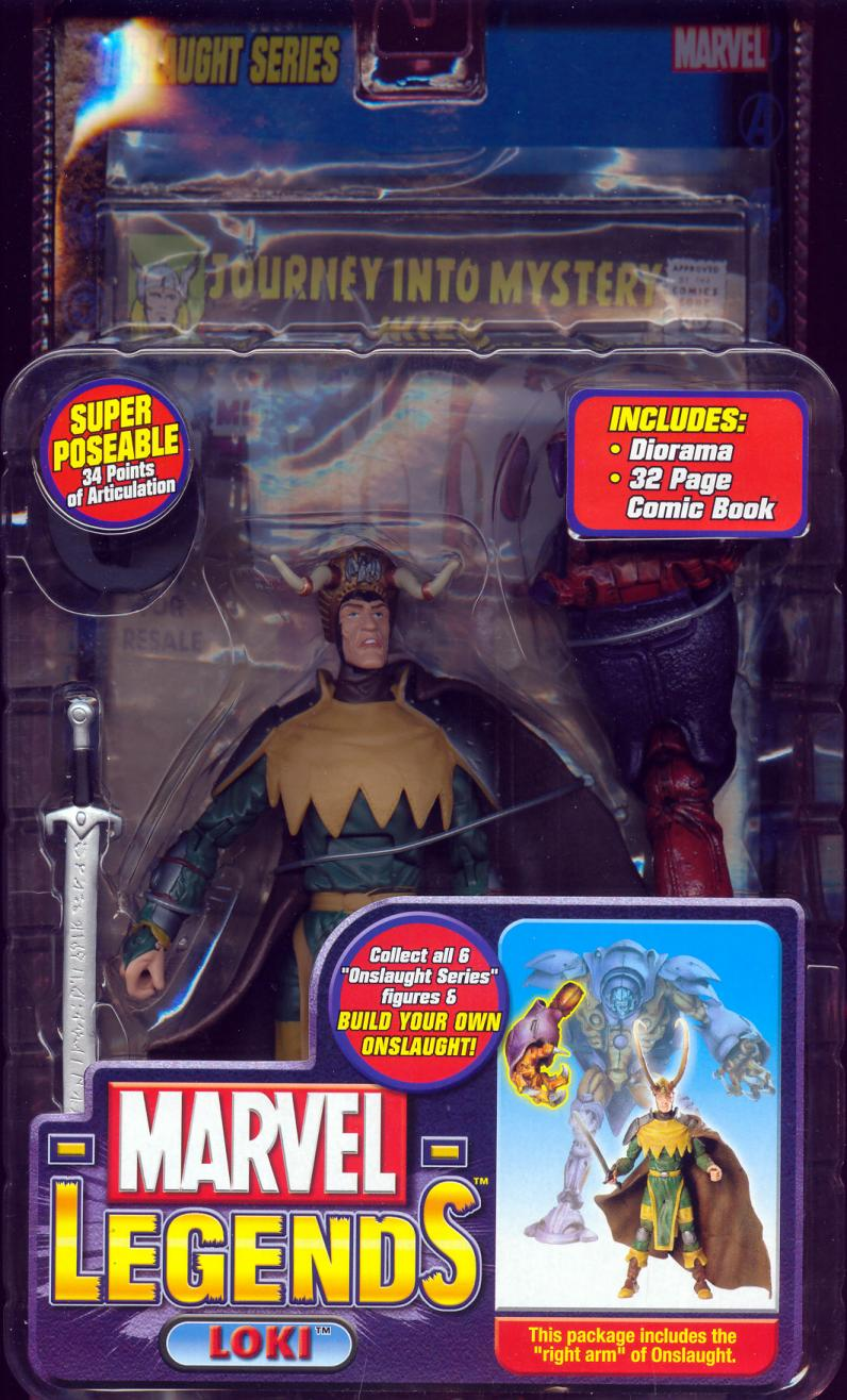 Crown Lies Loki Marvel Legends, variant
