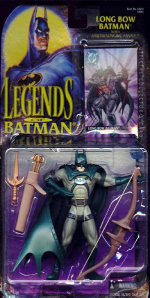 Long Bow Batman Legends action figure