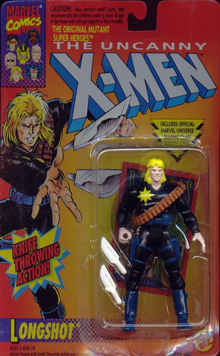 Longshot Knife Throwing Action X-Men figure