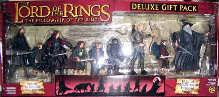 Lord Rings Deluxe 9-Pack FOTR, red box