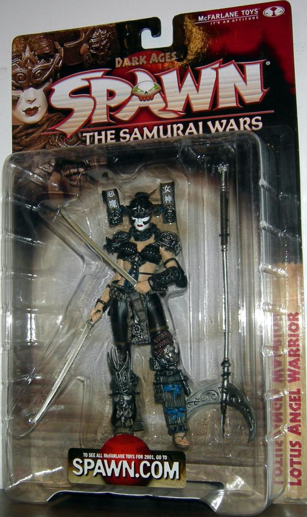 Lotus Angel Warrior Figure Spawn Series 19 Samurai Wars