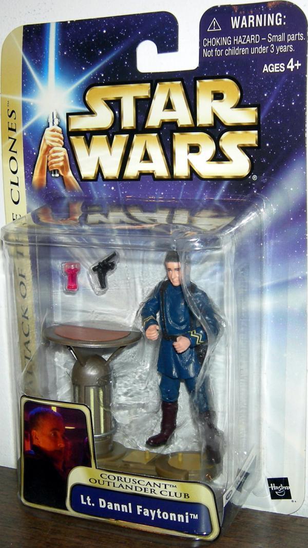 Lt Dannl Faytonni Figure Star Wars Attack Clones