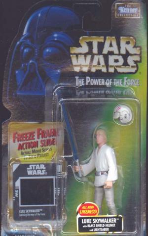 Luke Skywalker Blast Shield Helmet freeze frame