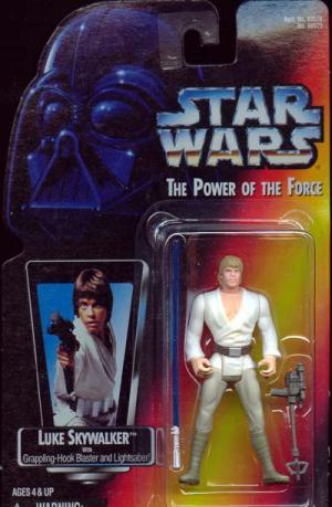 Luke Skywalker Figure Long Lightsaber Figure Star Wars