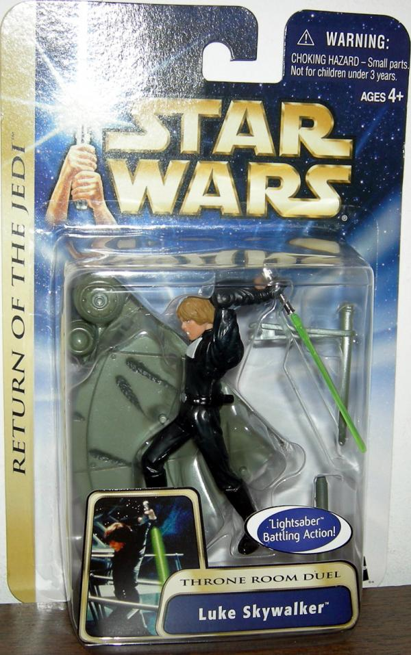Luke Skywalker Throne Room Duel Glove Variation action figure