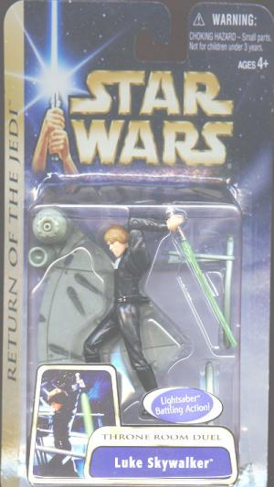 Luke Skywalker Throne Room Duel Corrected Version