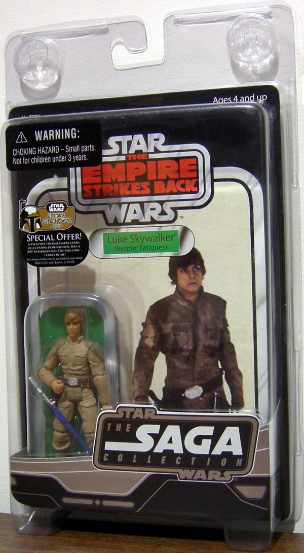 Luke Skywalker Bespin Fatigues Vintage Original Trilogy Collection