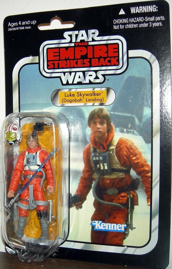 Luke Skywalker Dagobah Landing VC44 Star Wars Action Figure