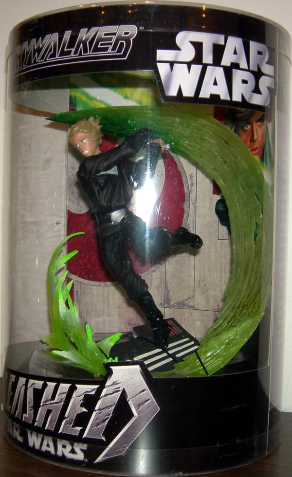 Luke Skywalker Unleashed Action Figure Boxed Star Wars