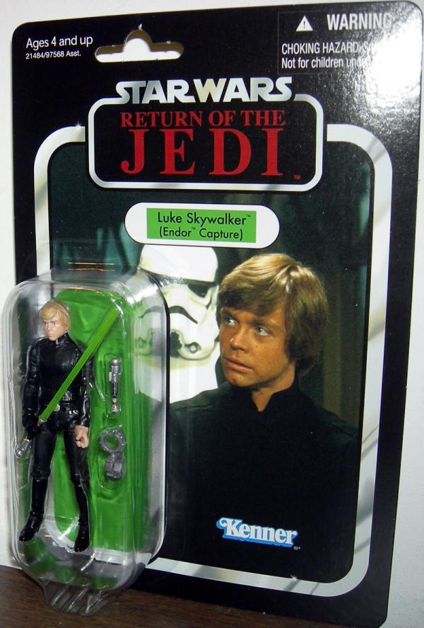 Luke Skywalker Endor Capture Star Wars Return Jedi VC23 action figure