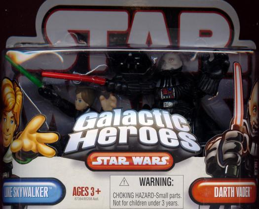 Luke Skywalker Darth Vader Galactic Heroes