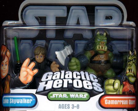 Luke Skywalker Gamorrean Guard Galactic Heroes