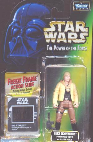 Luke Skywalker Ceremonial Outfit freeze frame