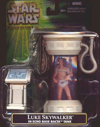 Luke Skywalker Echo Base Bacta Tank Star Wars action figure