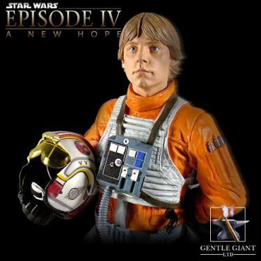 Luke Skywalker X-wing Pilot Gear Mini Bust Gentle Giant Ltd