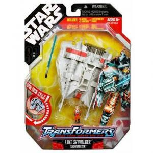 Luke Skywalker Snowspeeder Action Figure Transformers