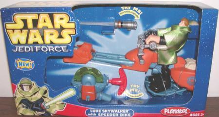 Luke Skywalker Speeder Bike Jedi Force