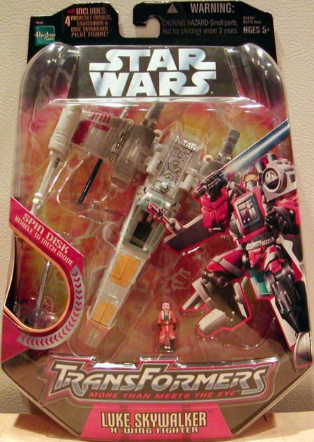Luke Skywalker X-wing Fighter Transformers