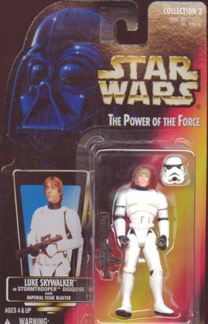 Luke Skywalker Stormtrooper Disguise
