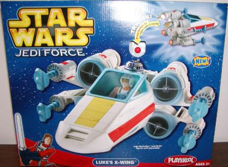 Lukes X-wing Jedi Force