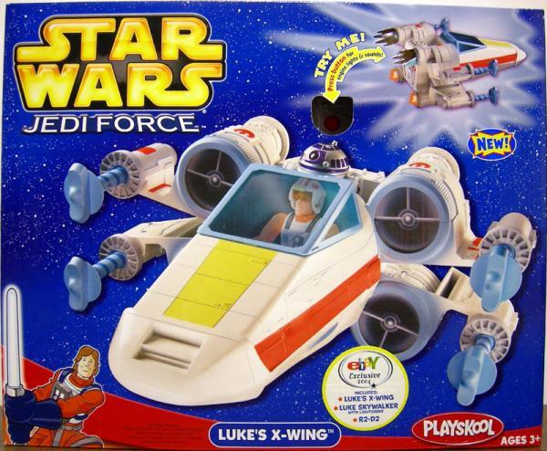 Lukes X-wing Jedi Force, 2004 eBay Exclusive