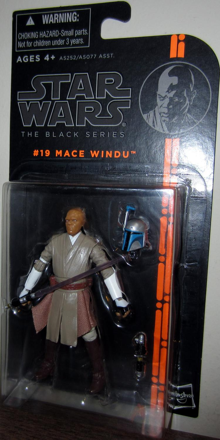 Mace Windu Figure Black Series 19 Star Wars