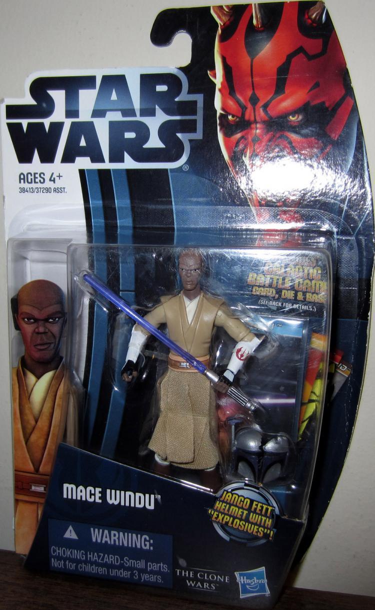 Mace Windu CW8 Figure Star Wars Clone Wars