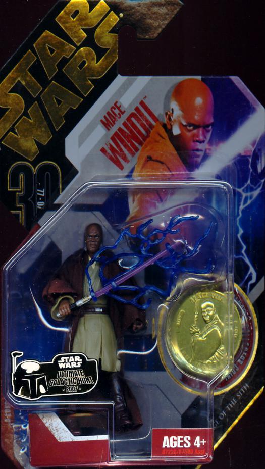 Mace Windu Ultimate Galactic Hunt 06 Star Wars action figure
