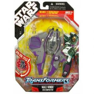 Mace Windu Jedi Starfighter Transformers