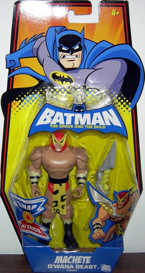 Machete BWana Beast Action Figure Batman Brave Bold Mattel